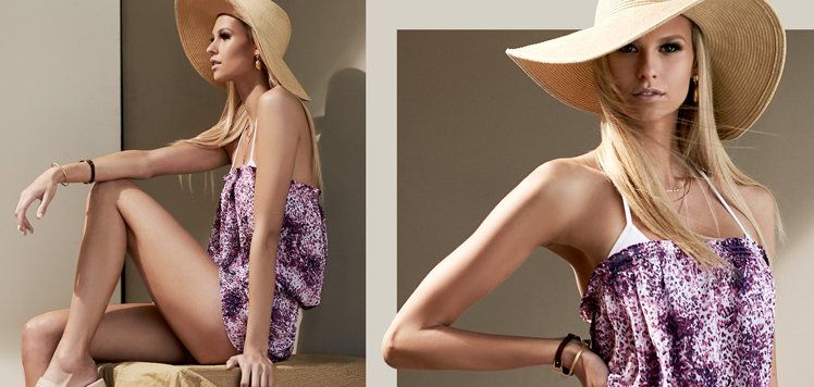 Swim Cover-Ups With Letarte to Ramy Brook