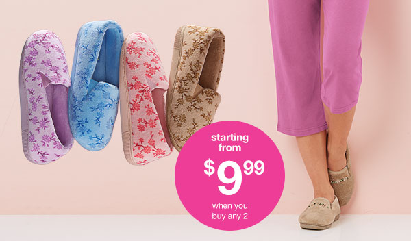 Shop Women's Slipperes!