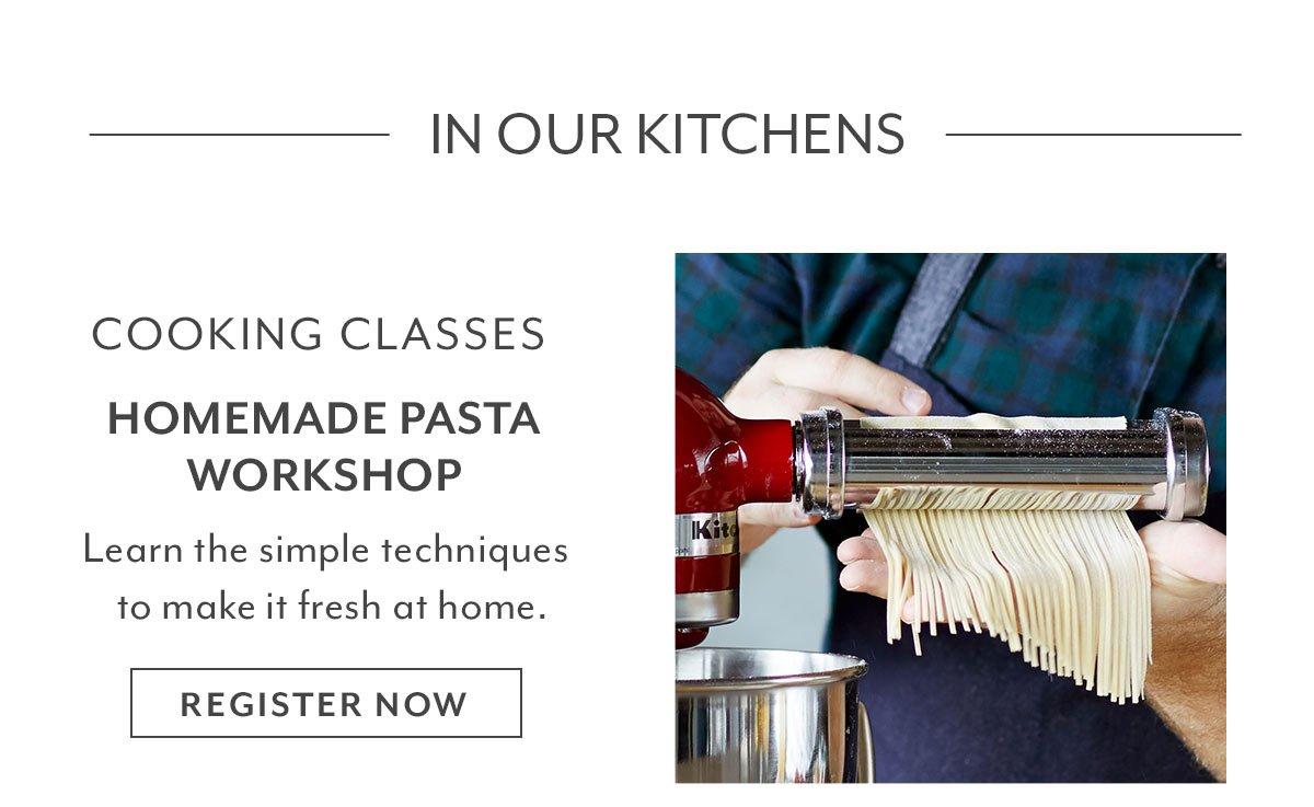Homemade Pasta Workshop