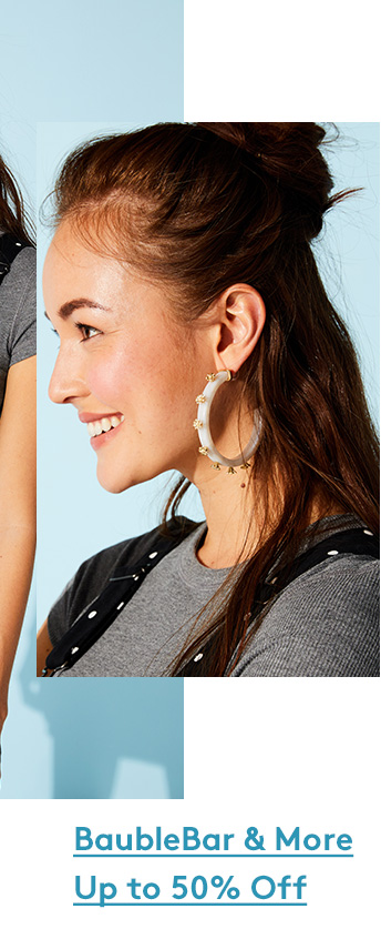 BaubleBar & More Up to 50% Off