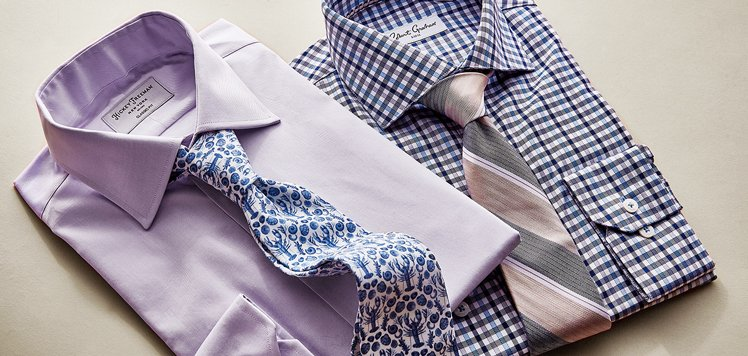 Men's Dress Shirts & Ties