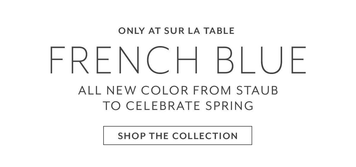 Staub French Blue