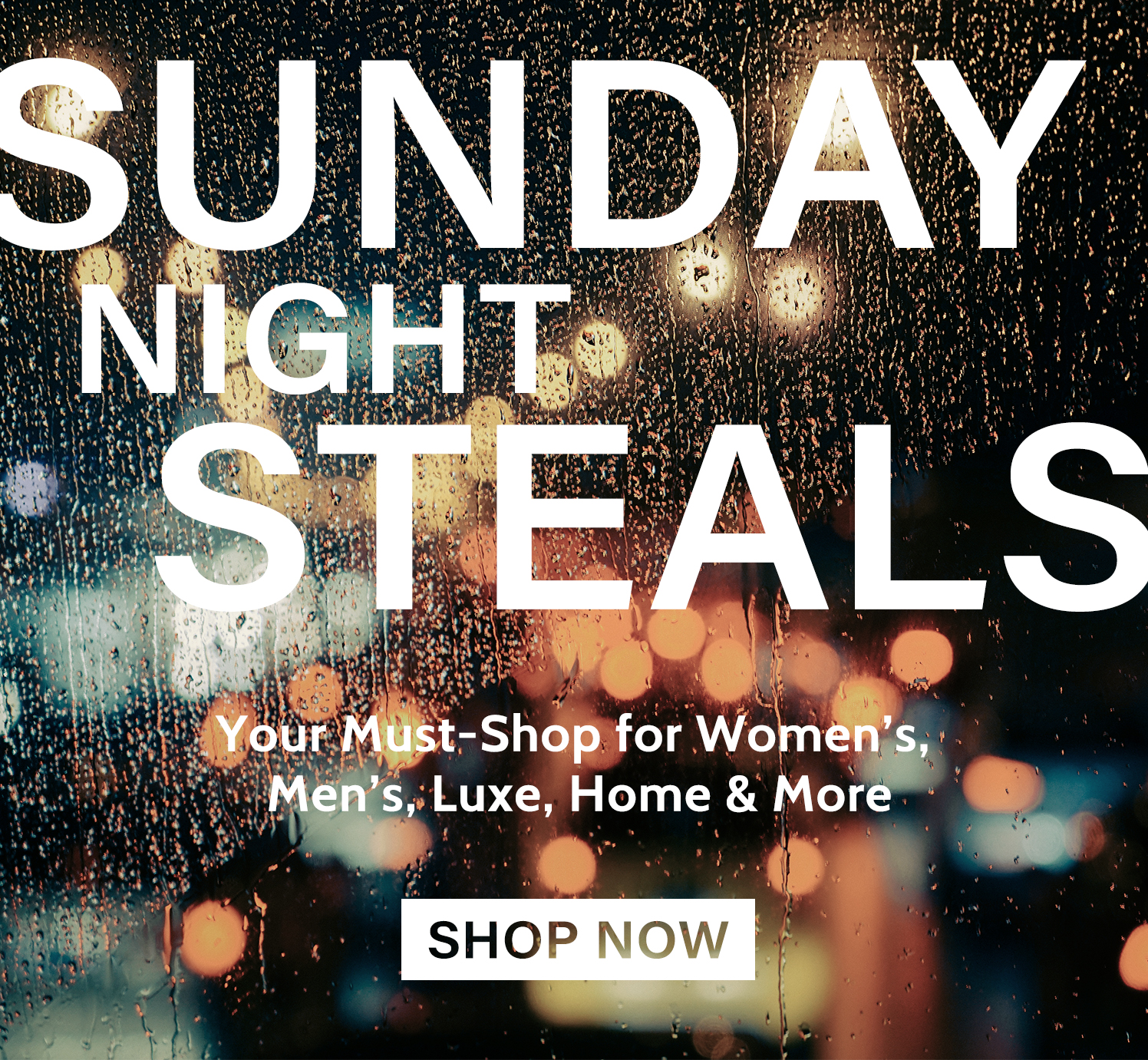 Sunday Night Steals just dropped