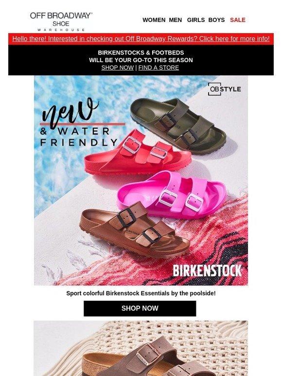 Off Broadway Shoes: Make a splash in