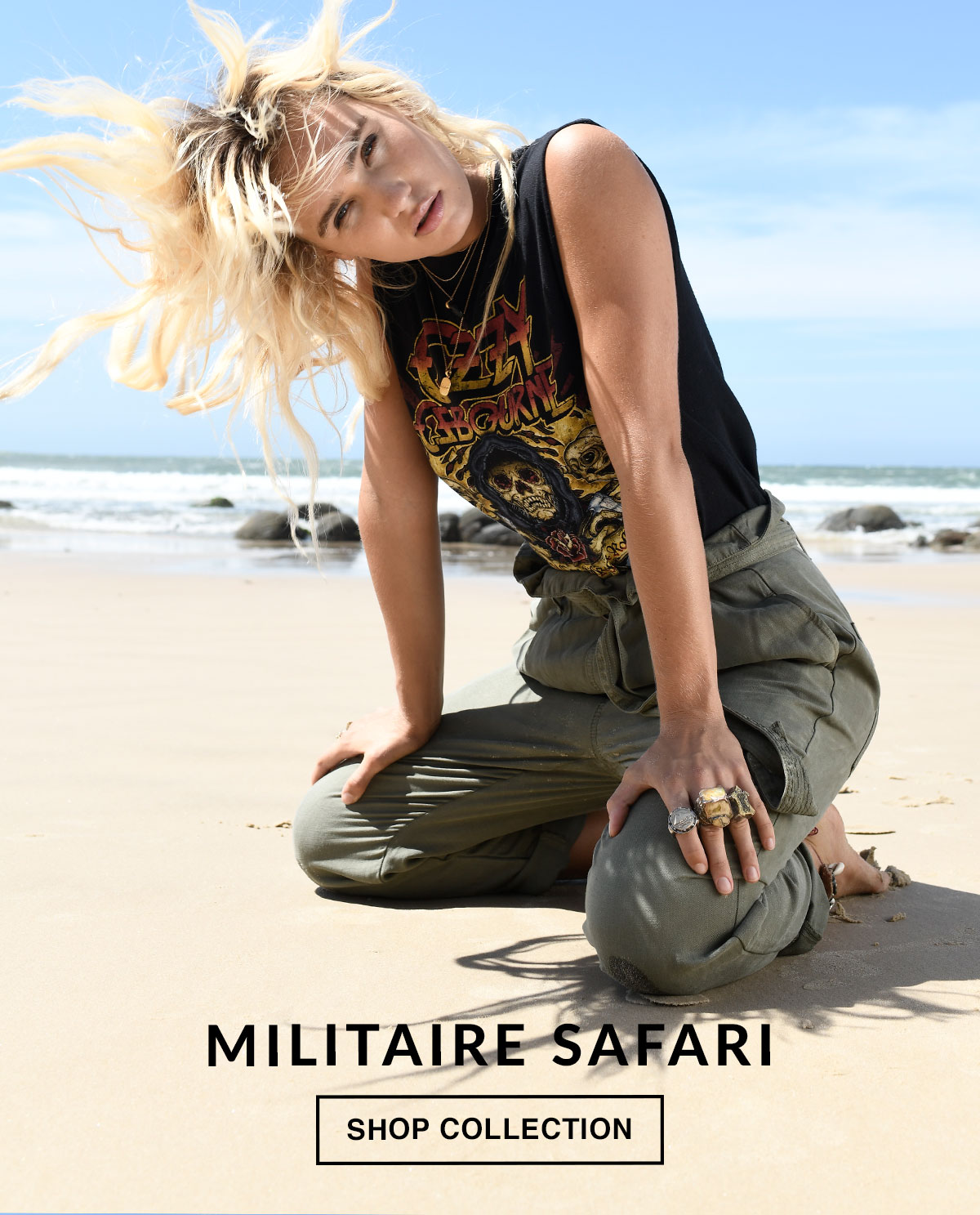 Militaire Safari. Shop Now.
