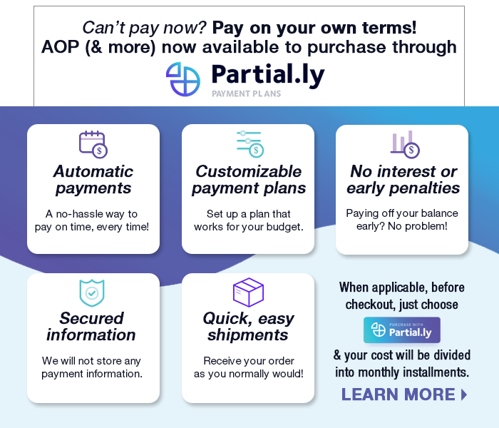 Partial.ly Payment Plan