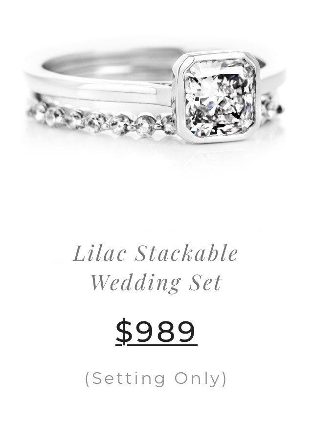 Lilac Wedding Set