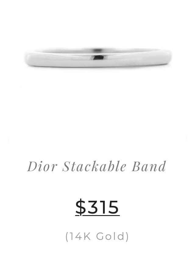 Dior Stackable Band
