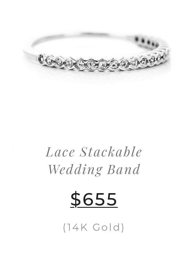 Lace Wedding Band