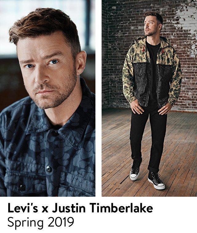 Levi's x Justin Timberlake: spring 2019.