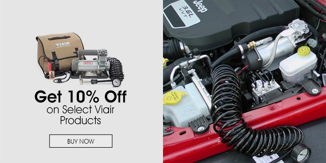 10% Off Select Viair Products