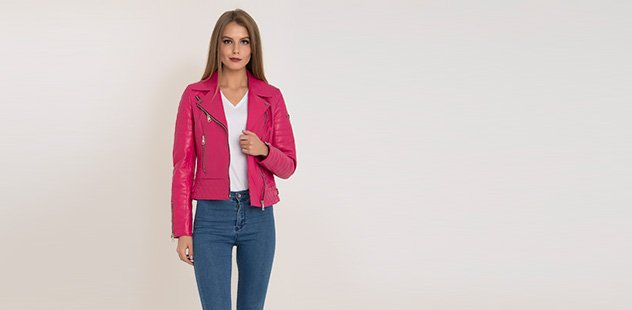 IPARELDE LEATHER JACKETS FOR HER