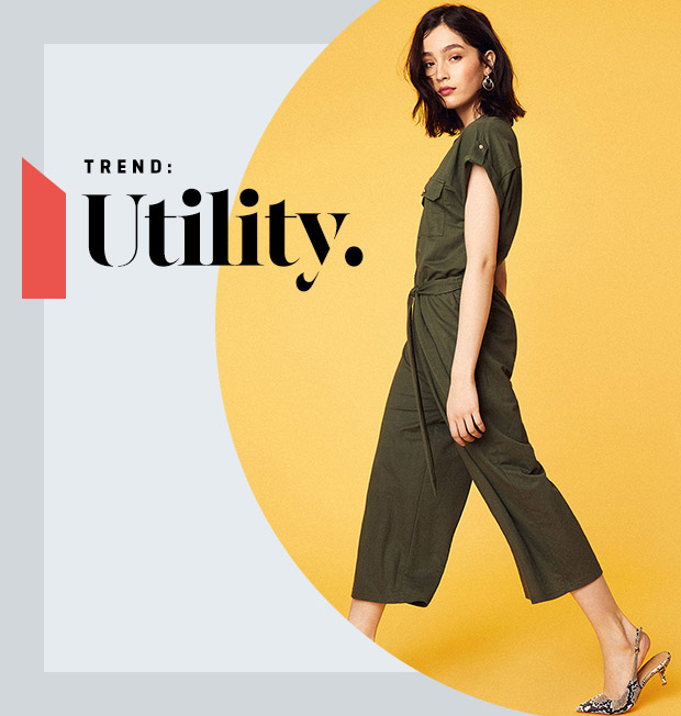TREND: UTILITY. - SHOP UTILITY