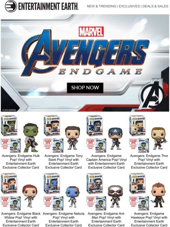 0bacf5b9d1e66 EntertainmentEarth.com  ICYMI  Every Avengers  Endgame Product Released So  Far!