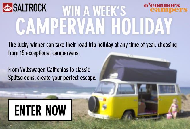 Saltrock: This Is No Joke - Win A Campervan Holiday   Milled