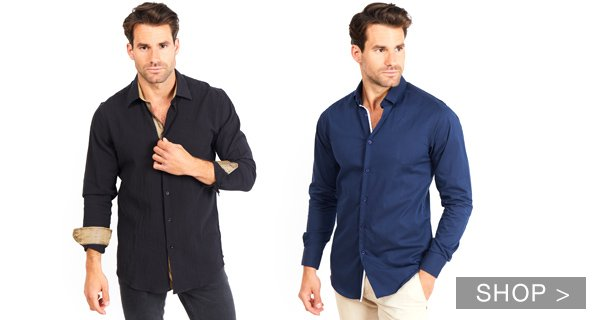 MEN'S SHIRTS AND POLOS