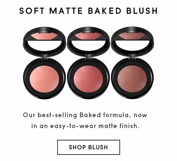 Soft Matted Baked Blush