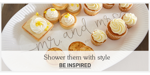 Shower Them with Style: Wedding Shower Inspo