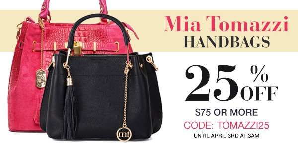 MIA TOMAZZI BEST SELLERS