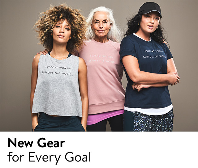 New activewear from Sweaty Betty, Zella and more.