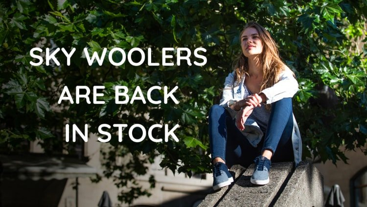Sky Woolers are back in stock