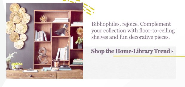 Shop the Home-Library Trend