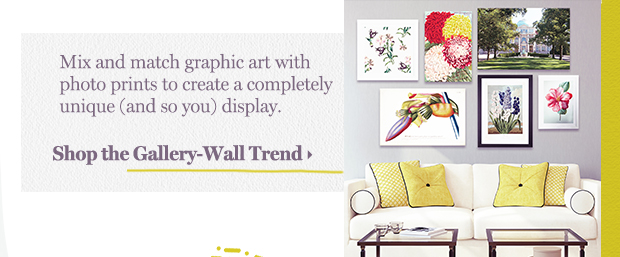 Shop the Gallery-Wall Trend