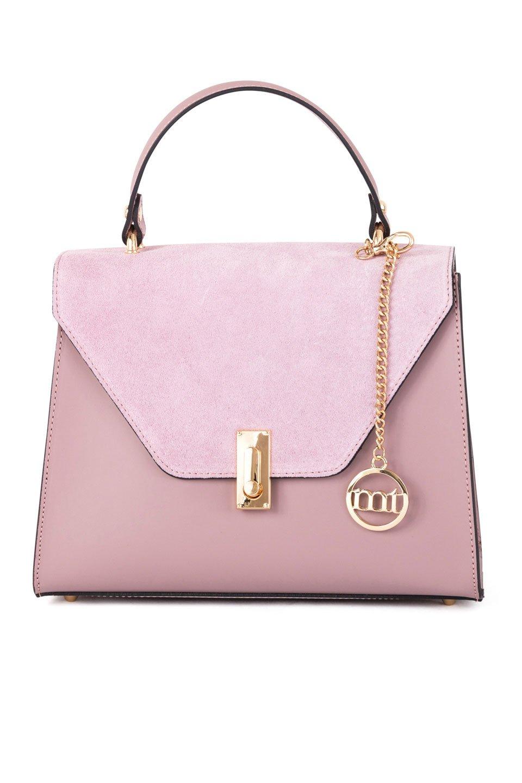 Dominique Handbag in Powder