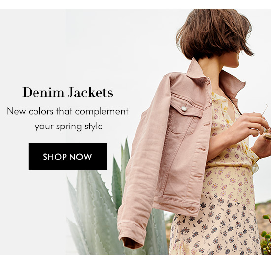 Shop Denim Jackets