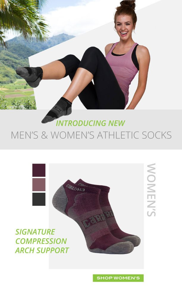 Cariloha: Introducing New Men's and Women's Athletic Socks! | Milled