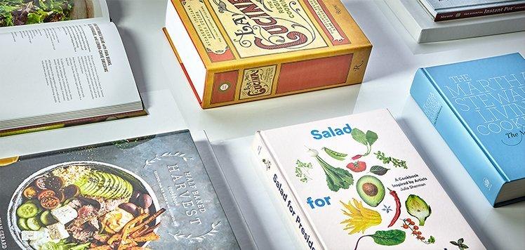 Brunch to Dessert Cookbooks