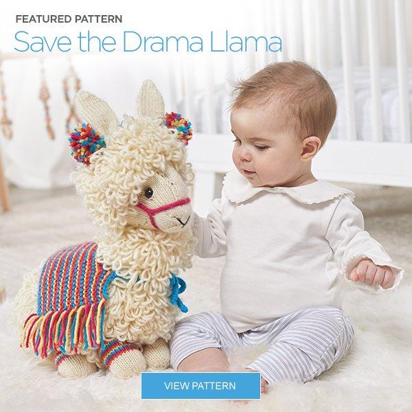 Amazon.com: RED HEART Amigurumi Yarn, Llama | 600x600