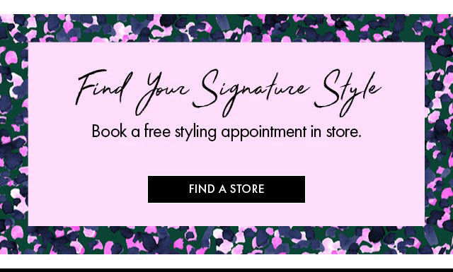 Find your signature style bb