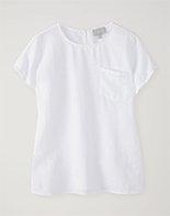 Laundered Linen Top