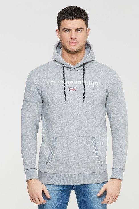 Technical Grey Hood