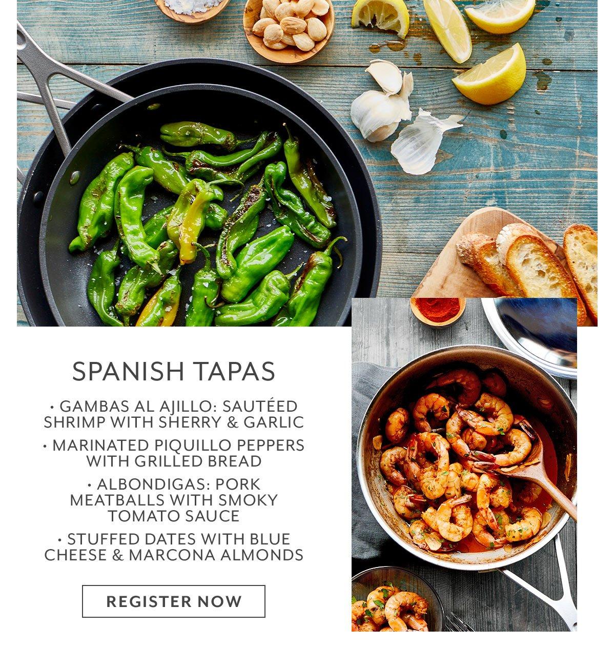 Class: Spanish Tapas