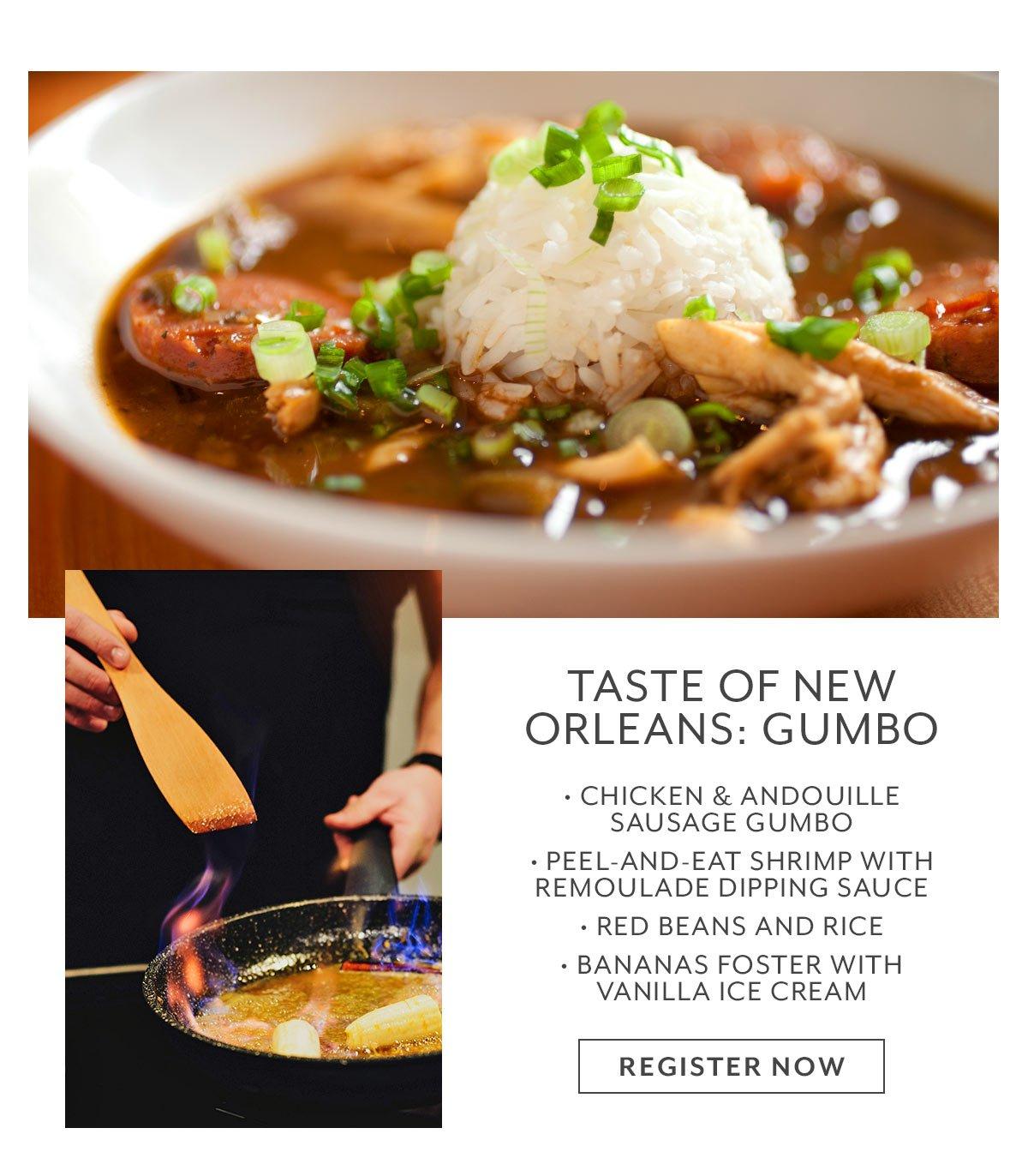 Class: Taste of New Orleans • Gumbo