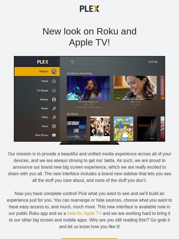 Plexamp: Plex has got a brand new nav 🎶 | Milled
