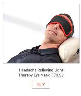 Headache Relieving Light Therapy Eye Mask