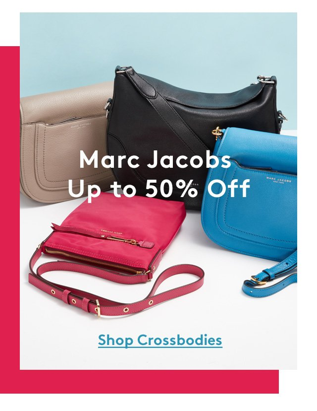 Marc Jacobs up to 50% off | Shop Crossbodies