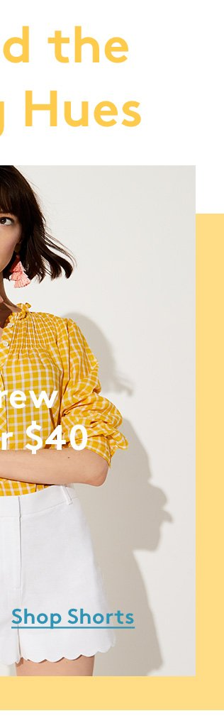 Spread the Spring Hues | J. Crew under $40 | Shop Shorts