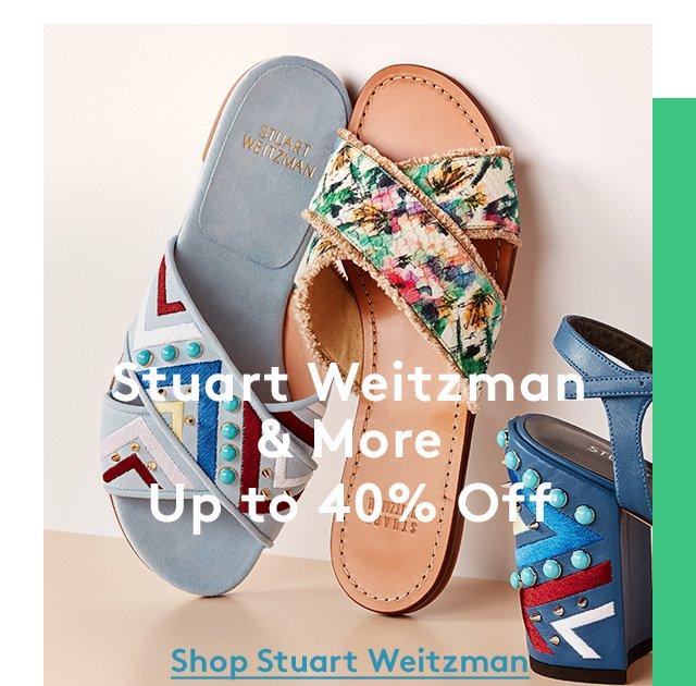 Stuart Weitzman & More | Up to 40% Off | Shop Stuart Weitzman
