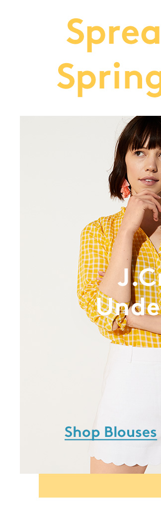 Spread the Spring Hues | J. Crew under $40 | Shop Blouses