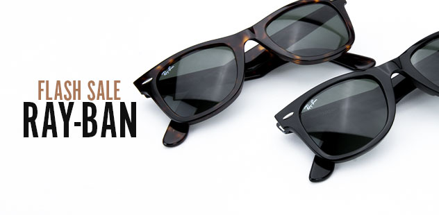 FLASH DEAL: RAY-BAN SUNGLASSES