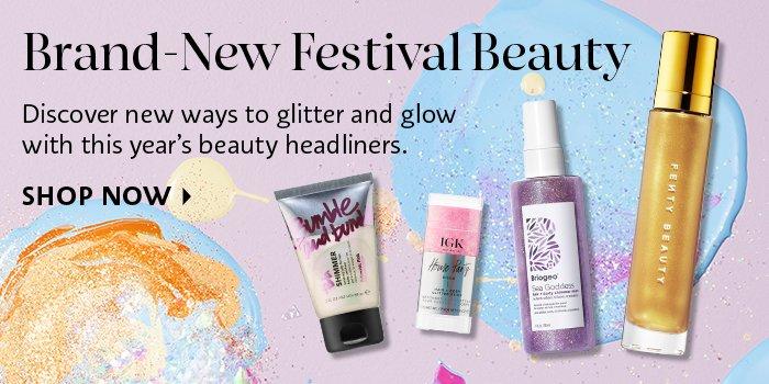 Brand-New Festival Beauty
