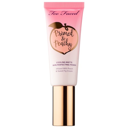 Too Faced : Primed & Peachy Cooling Matte Perfecting Primer – Peaches and Cream Collection : Face Primer
