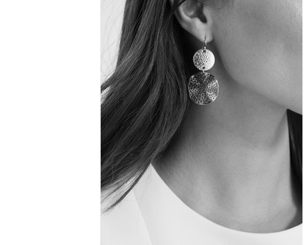 Sammie Circle Drop Earrings | was £20 | with code: £16