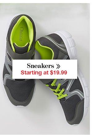 Shop Men's Sneakers Starting at $19.99