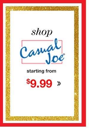Shop Men's Casual Joe Starting from $9.99