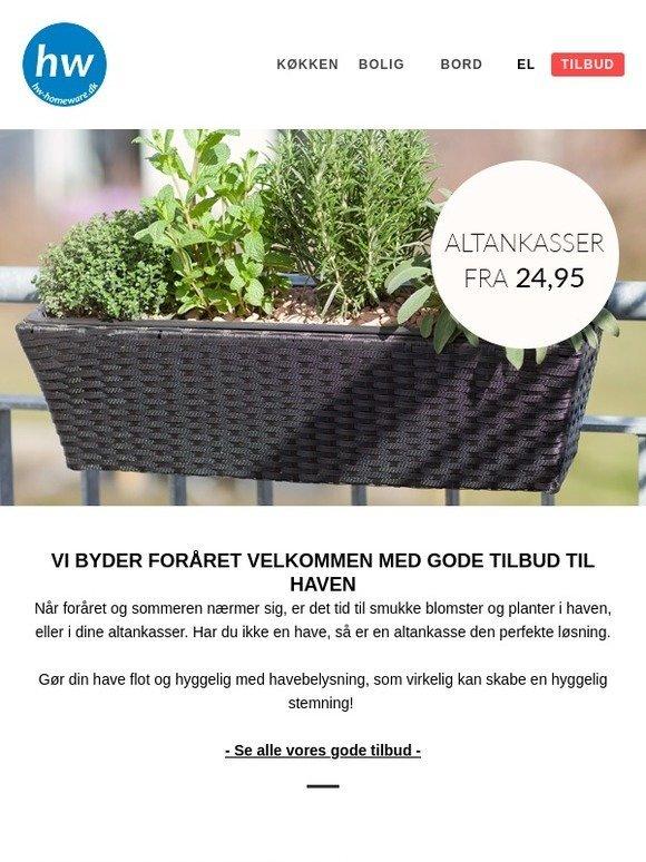 36a602e34 hw-homeware.dk: ☀ Vi byder foråret velkommen med gode tilbud til ...